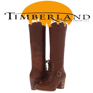 Cizme elegante cu toc Timberland pentru femei