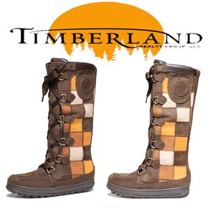Cizme inalte maro matlasate Mukluk Timberland