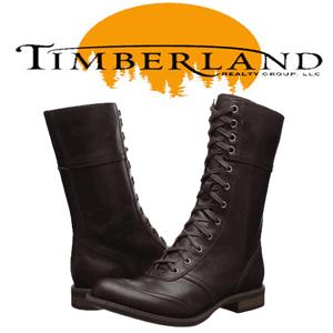 Cizme elegante din piele Timberland pentru femei