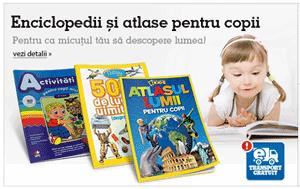 Carti, Enciclopedii si Atlase pentru copii la Biblioteca online eMAG