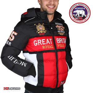 Geaca captusita barbateasca Geographical Norway Angleterre