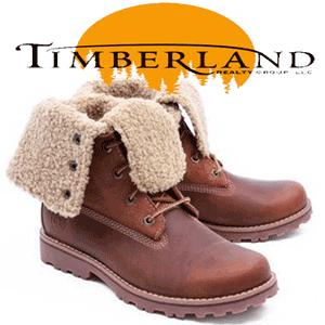 Ghete din piele imblanite Timberland de iarna pentru femei