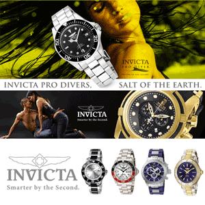 Invincibilele ceasuri de mana INVICTA pentru femei, cadouri cu stil