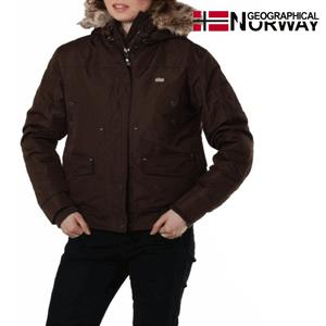 Jacheta dama de iarna Geographical Norway ciocolata