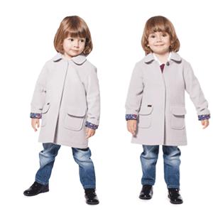 Jachete si paltoane din lana pentru copii