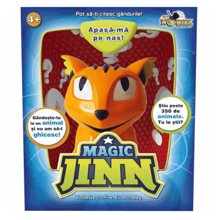 Jucaria care ghiceste gandurile Magic Jinn de la Noriel
