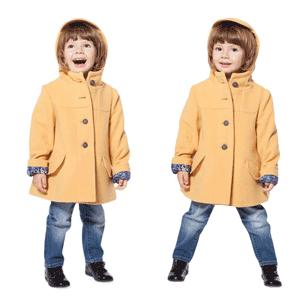 Paltoane din lana pentru copii