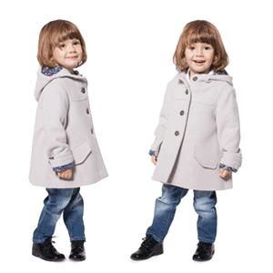 Paltoane din lana pentru baieti si fetite