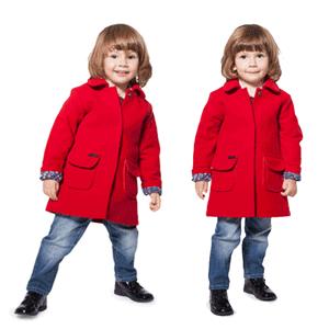 Paltoane din lana pentru copii, baieti si fetite, fabricate in Romania