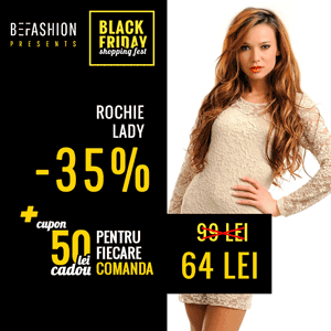 Be Fashion la eMAG Black Friday Shopping Fest 2014