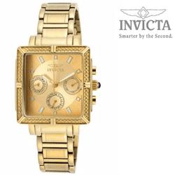 Reduceri Ceasuri elegante dama invicta Ceas elegant Invicta Wildflower Gold