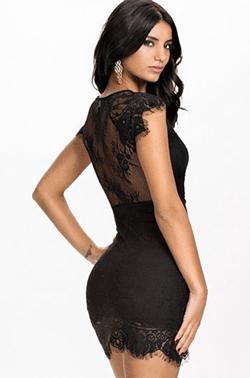 Rochita neagra scurta super sexy