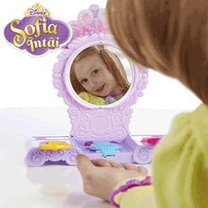 Accesorii si bijuterii Play-Doh Set de frumusete Printesa Sofia Intai pentru fetite