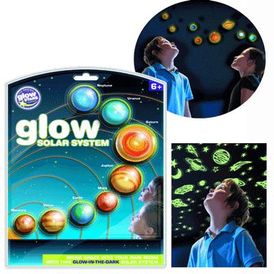 Decoratiuni de camera corpuri ceresti fosforescente, stelute, planete si galaxii
