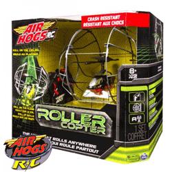 Elicopterul Air Hogs Rollercopter ce se invarte chiar si pe tavan
