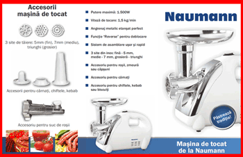 Masina de tocat carne Naumann NM-120