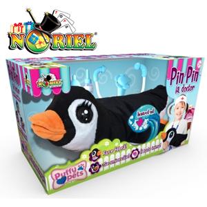 Pinguinul Pin Pin la Doctor Jucarie Puffy Pets Noriel