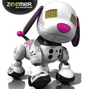 Catelul robot pentru fetite Scarlet Zoomer Zuppies