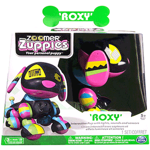 la Nicoro Catelusa robot Ruxy de la Zoomer Zuppies