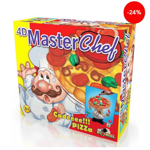 Jocul Master Chef 4D de la Noriel. Cade Pizzaaa!