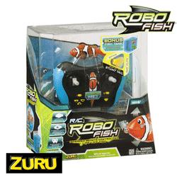 Zuru Toys - Robo Fish Portocaliu cu Telecomanda