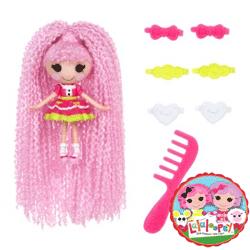 Lalaloopsy cu par lung mini papusa cu zulufi Loopy Hair