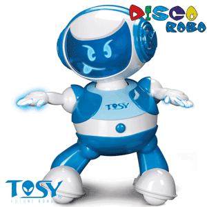 Robotii dansatori DiscoRobo de la Nicoro: Lucas albastru
