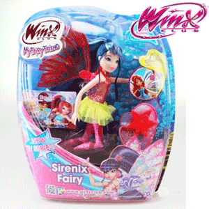 Papusile WINX Sirene Magic si Double Wings, Bloom, Flora, Stella, Musa, Layla si Tecna