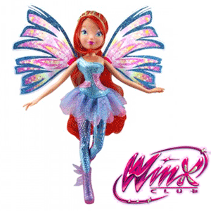 Papusile WINX Zane Sirene si Double Wings Sirenix, Bloom, Flora, Stella, Musa, Layla si Tecna
