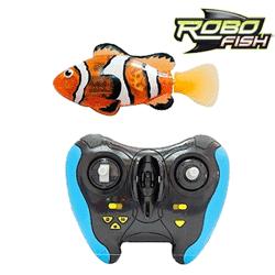Robo Fish Portocaliu cu Telecomanda pestisorul Zuru Toys