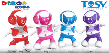 Discorobo Nicoro - Roboteii dansatori - jucarii electronice inteligente