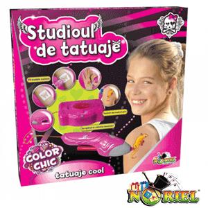 Studioul de tatuaje lavabile si non toxice la Noriel