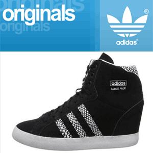 Platforme sport adidas Originals Basket Profi Up W