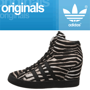 Platforme Animal Print Adidas Originals Basket Profi Up W