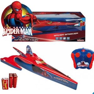 Barca cu radiocomanda Spiderman la Nicoro