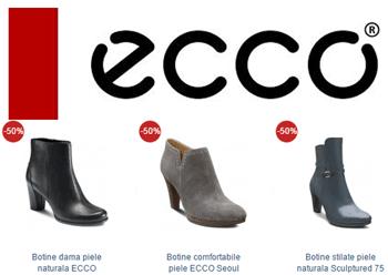 Botine din piele ECCO Touch 2015