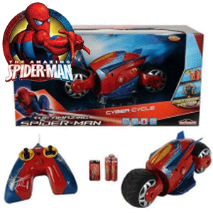Motocicleta cu telecomanda Spiderman