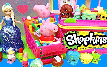 Jucariile din seria Shopkins Supermarket