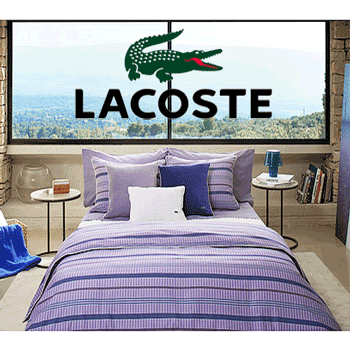 Lenjerii de pat de calitate marca Lacoste