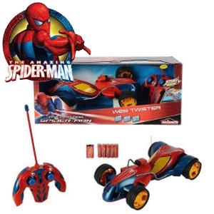 Jucarii si seturi de jucarii, vehicule telecomandate cu Spiderman la Nicoro