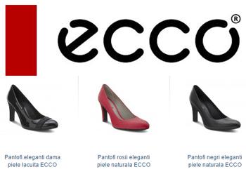 ECCO Shoes - Pantofi din piele lacuita Turino