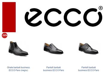 Pantofi eleganti din piele pentru barbati ECCO Faro