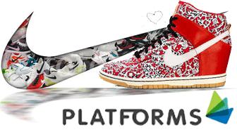intreaga colectie de platforme Nike