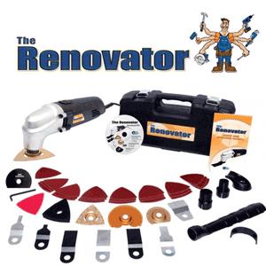 Setul de scule electrice Renovator