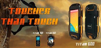 Smartphone Titan 600 Tecmobile quad-core