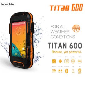 Smartphone Ultra Rezistent Titan 600 TecMobile
