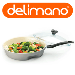 Noua tigaie Dry Cooker Ceramica Trilogy Delimano