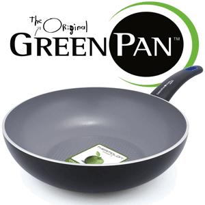 Tigaie ceramica inductie WOK GreenPan Siena3D