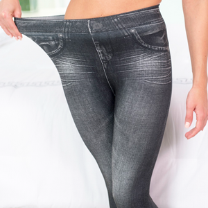 Jeansi super elastici modelatori Slim`n Lift Caresse in oferta Mediashop TV