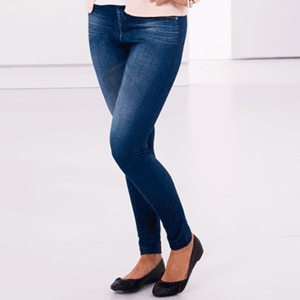 Blugi Leggings Slim' n Lift Caresse Jeans